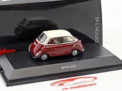 BMW 600 rojo / blanco 1:43 Schuco