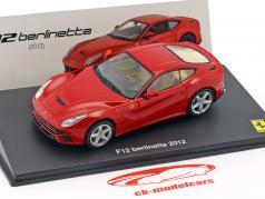 Ferrari F12 Berlinetta Bouwjaar 2012 rood 1:43 Altaya