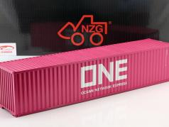 40 FT Container Ocean Network Express magenta 1:18 NZG