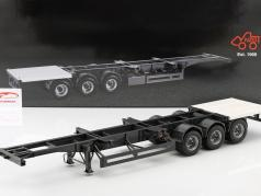 Semitrailer International For Container 1:18 NZG
