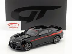 Hennessey Camaro ZL1 The Exorcist year 2017 black / red 1:18 GT-Spirit