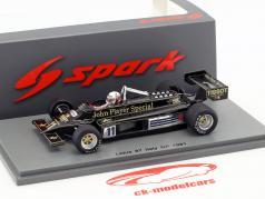 Elio de Angelis Lotus 87 #11 4. italiensk GP formel 1 1981 1:43 Spark