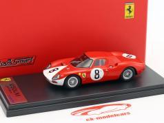 Ferrari 250 LM #8 segundo 12h Reims 1964 Surtees, Bandini 1:43 LookSmart