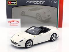 Ferrari California T Open Top year 2014 white 1:18 Bburago