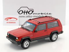 Jeep Cherokee 2.5 EFI year 1995 flame red 1:18 OttOmobile