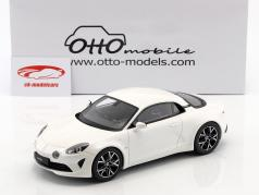 Alpine A110 Pure Opførselsår 2018 hvid 1:18 OttOmobile