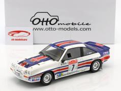 Opel Manta 400R Gr.B #7 cuarto Rallye SanRemo 1983 Toivonen, Gallagher 1:18 OttOmobile