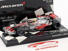 Lewis Hamilton McLaren MP4-23 #22 Brasilien GP formel 1 2008 1:43 Minichamps