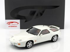 Porsche 928 GTS year 1992 grand prix white 1:18 GT-Spirit