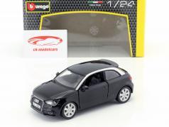 Audi A1 (8X) zwart 1:24  Bburago