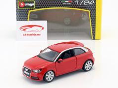 Audi A1 (8X) 赤 1:24  Bburago
