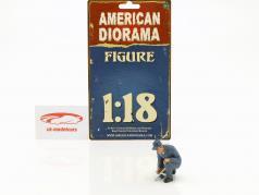 mecânico Juan com ressalto chave figura 1:18 American Diorama