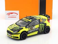 Ford Fiesta RS WRC #46 gagnant Monza Rallye Show 2015 Rossi, Cassina 1:18 Ixo