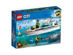 LEGO® City Tauchyacht