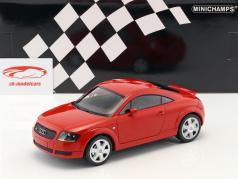 Audi TT (8N) Coupe Bouwjaar 1998 rood 1:18 Minichamps