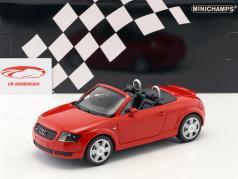 Audi TT (8N) Roadster Bouwjaar 1999 rood 1:18 Minichamps
