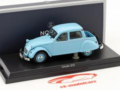 Citroën 2CV Citroneta year 1963 light blue 1:43 Norev