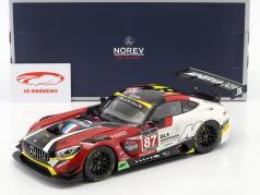 Mercedes-Benz AMG GT3 #87 winnaar GT Series Monza 2016 Beaubelique, Ricci, Vannelet 1:18 Norev