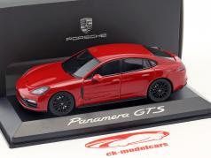 Porsche Panamera GTS 建造年份 2016 胭脂红 红 1:43 Herpa