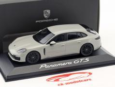 Porsche Panamera Sport Turismo GTS Bouwjaar 2017 krijt grijs 1:43 Minichamps