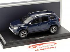 Dacia Duster Bouwjaar 2018 kosmos blauw metalen 1:43 Norev