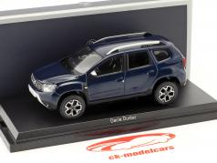 Dacia Duster year 2018 cosmos blue metallic 1:43 Norev