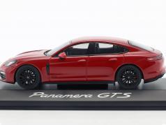 Porsche Panamera GTS Год постройки 2016 кармин красный 1:43 Herpa