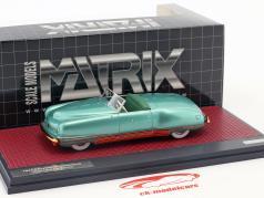 Chrysler Thunderbolt Concept Le Baron Open Top Baujahr 1941 grün metallic 1:43 Matrix