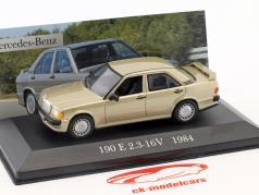 Mercedes-Benz 190 E 2.3-16V (W201) anno di costruzione 1984 oro metallico 1:43 Altaya