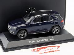 Mercedes-Benz GLE (V167) ano de construção 2018 cavansite azul 1:43 Norev