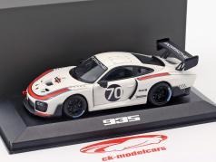 Porsche 935 #70 2018 (gebaseerd op 911 (991.2) GT2 RS) 1:43 Minichamps