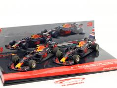 Ricciardo #3 & Verstappen #33 2-Car Set Red Bull Racing RB14 formule 1 2018 1:43 Minichamps