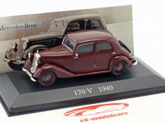 Mercedes-Benz 170 V (W136) Construction year 1949 red 1:43 Ixo Altaya