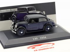 Mercedes-Benz 130 (W23) year 1934 blue / black 1:43 Ixo Altaya