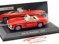 Mercedes-Benz 300 SL Roadster (W198) Year 1957 red 1:43 Altaya