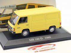 Mercedes-Benz MB 100 D Year 1988 yellow 1:43 Altaya