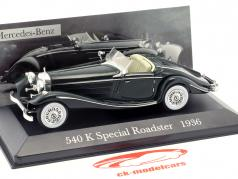 Mercedes-Benz 540 K Special Roadster (W29) year 1936 green 1:43 Ixo Altaya