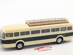 Renault R 4192 bus France year 1954 beige / green 1:43 Altaya