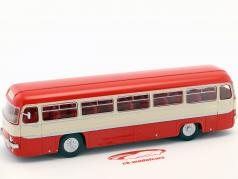 Chausson ANG автобус Франция Год постройки 1956 красный / белый / серебро 1:43 Altaya