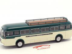 Renault R 4192 Gonthier & Nouhaud автобус Франция Год постройки 1952 зеленый / белый 1:43 Altaya