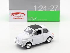 Fiat Nuova 500 Baujahr 1957 weiß 1:24 Welly