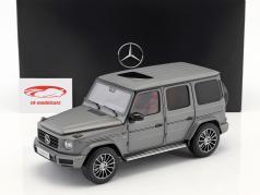 Mercedes-Benz Classe G (W463) anno di costruzione 2018 designo platino magno 1:18 Minichamps