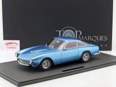 Ferrari 250 GT Lusso año de construcción 1962 azul metálico 1:12 TopMarques