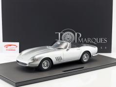 Ferrari 275 GTB/4 NART Spyder Opførselsår 1967 sølv 1:12 TopMarques