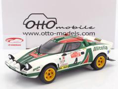 Lancia Stratos HF #4 winnaar Rallye SanRemo 1976 Waldegard, Thorszelius 1:12 OttOmobile