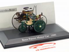 Mercedes-Benz Patent Motor Car dark green Year 1886 1:43 Altaya
