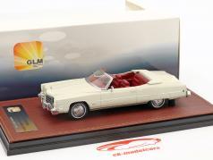 Cadillac Eldorado converteerbaar Open Top Bouwjaar 1973 wit 1:43 GLM