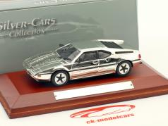 BMW M1 Baujahr 1978 chrome 1:43 Atlas