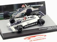 N. Piquet Brabham BT49C #5 World Champion Germany GP formula 1 1981 1:43 Altaya