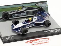Ayrton Senna Brabham BT52B prueba fórmula 1 1983 1:43 Altaya